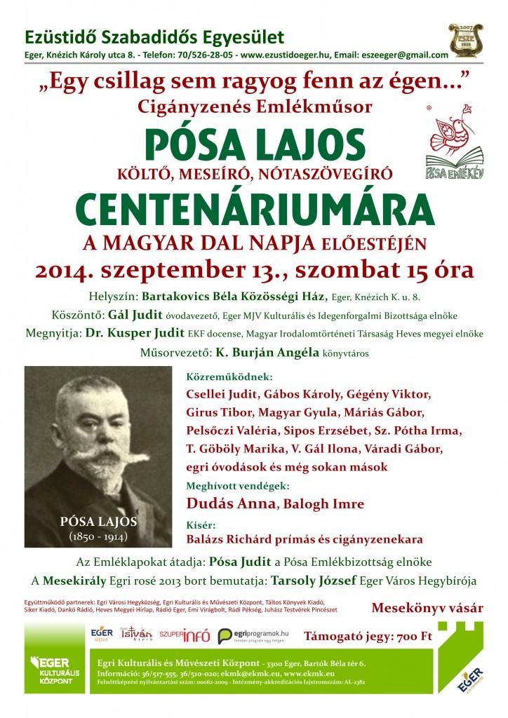 Pósa Lajos plakát